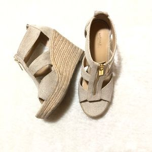 Michael Kors Damita Wedge Sandals Size 6.5